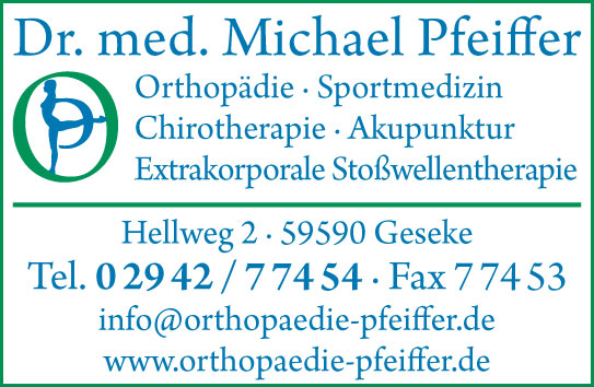 Pfeiffer Michael Dr.