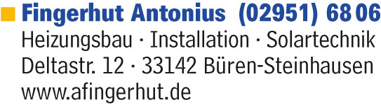 Fingerhut Antonius